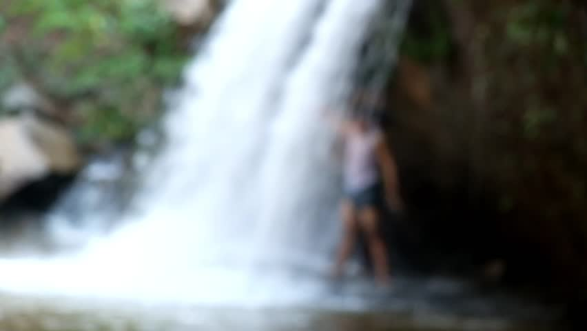 Waterfall blur in Thailand | Shutterstock HD Video #26447666