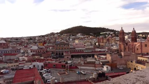 Zacatecas sunset timelapse