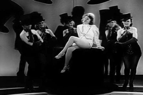 1940s: 1940s style cabaret dancing is presented in this high energy soundie music video from 1943.