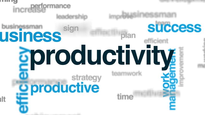 Header of productivity