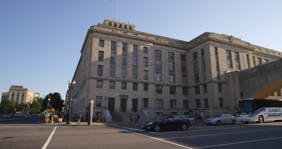 US Department of Agriculture Building in Washington DC. Shot in 2012. | Shutterstock HD Video #26933302