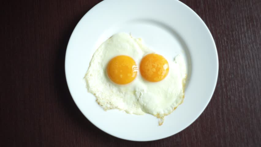 Royalty Free Fried Egg Clip Art, Vector Images ...  |Fried Eggs On A Plate