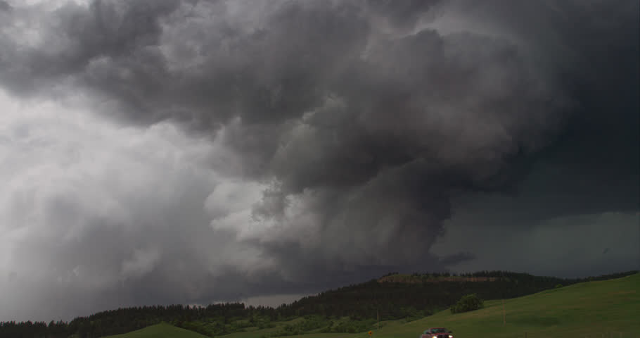 Storm over the Black Hills, Wyoming | Shutterstock HD Video #26964802