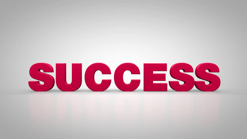 Success concept 3d animation | Shutterstock HD Video #26998912