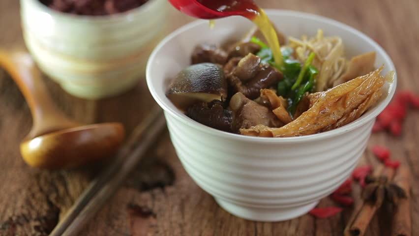 Asian pork dish