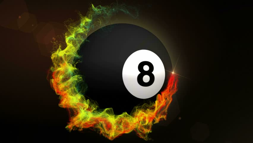 Number 8 Pool Ball Animation Stock Footage Video (100% Royalty ... a8b2b8a7023a
