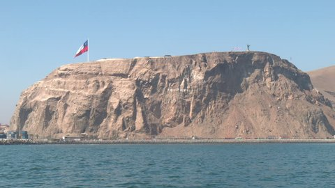 ARICA (CHILE) FROM THE SEA