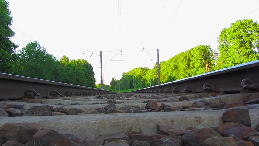 train, view from below