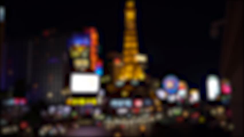 West hollywood ca february 27 2014 the body shop strip club on blur background las vegas nevada strip at night bright neon lights illuminate blvd as car aloadofball Choice Image