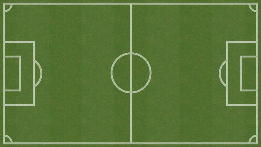 Animation Of Drawing The Lines On The Soccer (football