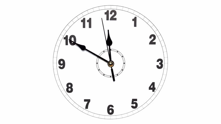 clock time lapse  animation stock footage video 8651608