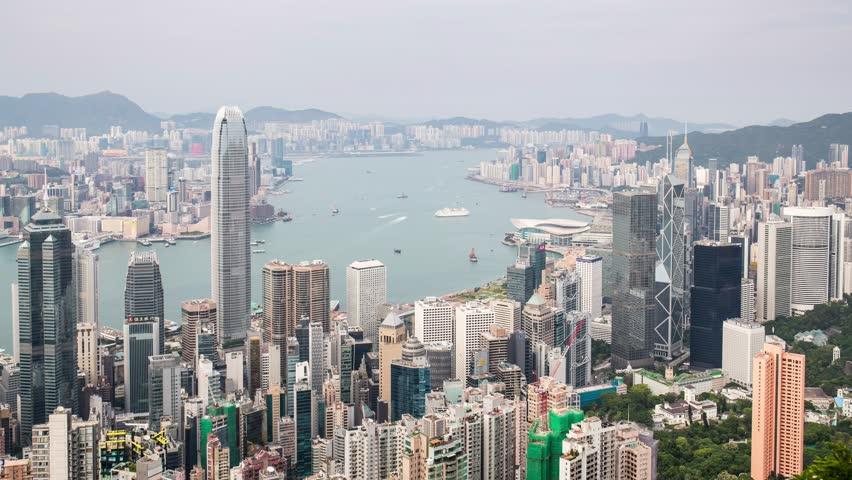 The peak, Hong Kong, 28 May 2017 -: The peak in Hong Kong  | Shutterstock HD Video #27585880