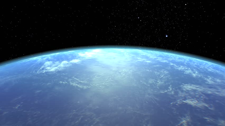 Beautiful Earth spinning slowly in the space. | Shutterstock HD Video #27773392
