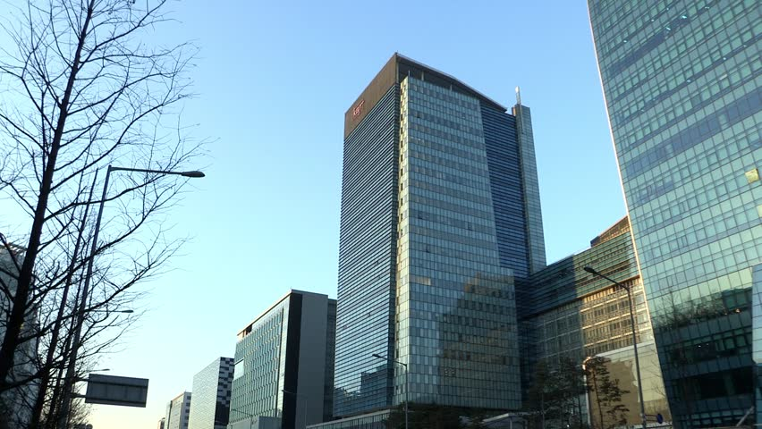 SANGAM DIGITAL COMPLEX, SEOUL, SOUTH KOREA   CIRCA DEC 2010: Street View Of