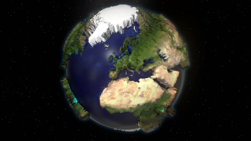Earth space extruded turning spinning globe world blue marble earth space extruded turning spinning globe world blue marble satellite map 4k 4k stock video gumiabroncs Choice Image