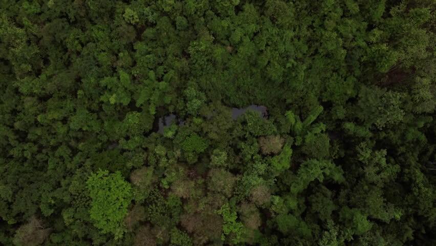 beautiful mountain range aerial shot #27986332