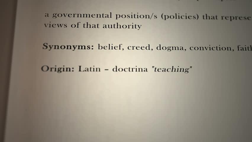 Header of doctrine
