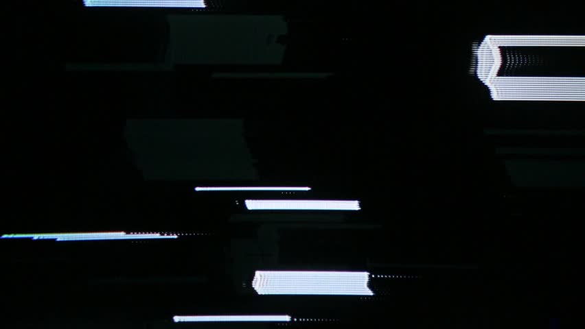 Analog glitch effects with visible CRT cathode tube pattern. | Shutterstock HD Video #28195312