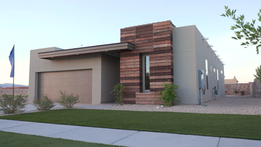Contemporary Homes Exterior so why dont choose contemporary house exterior design as our potential choice Small Southwest Modern Home Exterior Rising With Tree Angled Shot Of A Small Exterior Southwest