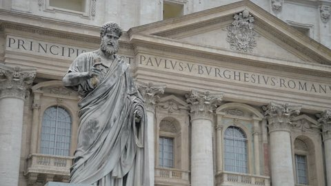 Basilica di San Pietro Vatican, Rome, Italy.