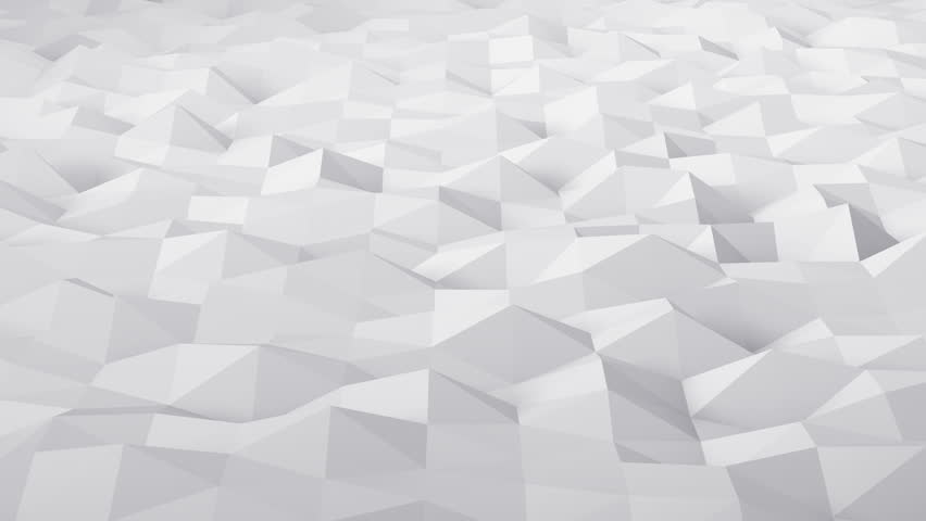 Geometric Triangle Wall waving background.