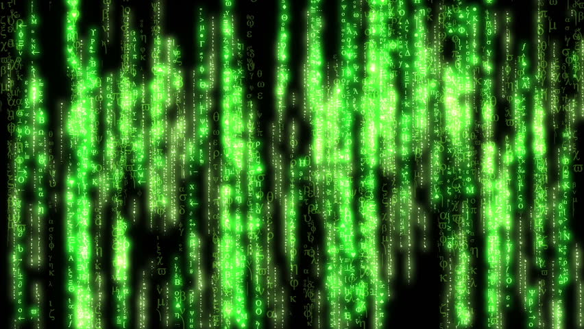 Code Rain Loop Animation with Green Color | Shutterstock HD Video #28387372