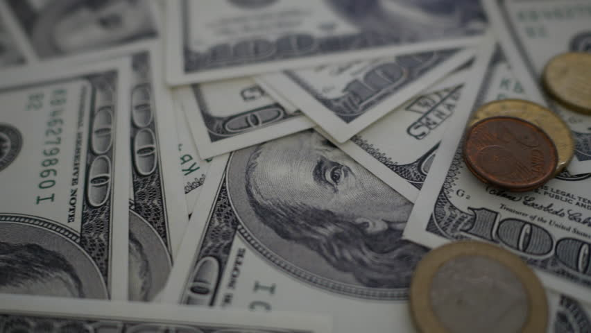 Close up money dollars. | Shutterstock HD Video #28557169