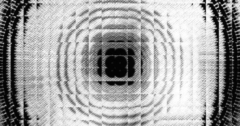 Luma matte video transition and reveal. Modern grunge glass technique