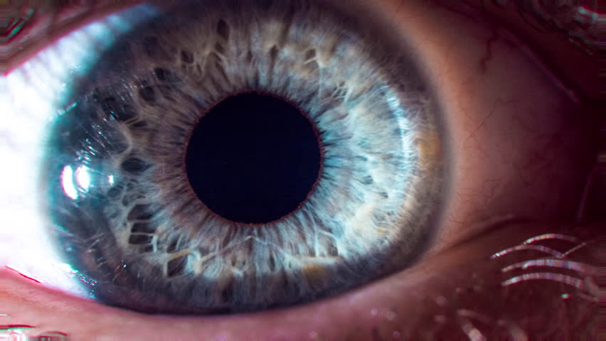 Eye Pupil Focusing Contracting Focusing Close Up Macro Shot Vision Impairment Healthy Lifestyle Eye Surgery Contact Lenses Concept | Shutterstock HD Video #28616482