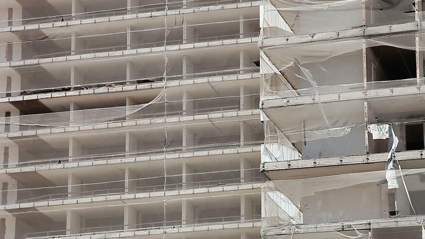 Destroyed building - Urban scenics