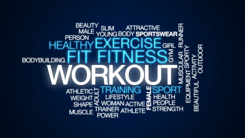 Workout Animated Word Cloud, Text Stock Footage Video (100% Royalty-free)  28630852 | Shutterstock