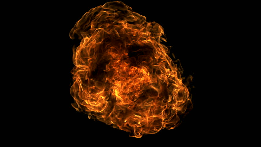 Fire ball explosion shooting with high speed camera, phantom flex. | Shutterstock HD Video #2864458