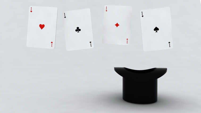 Magic Cards In The Cylinder Stock Footage Video 100 Royalty Free 2870872 Shutterstock
