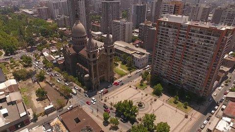 Santiago do Chile - Basi     lica de los Sacramentinos