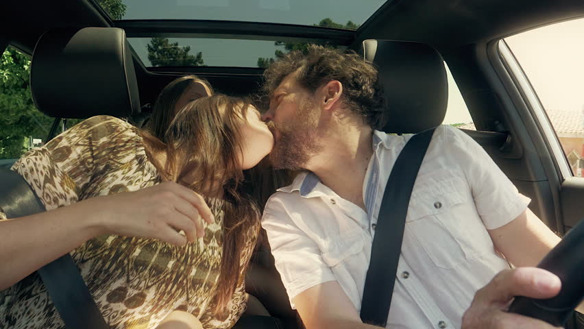 Concept of love and family happy driving car   Shutterstock HD Video #28822672