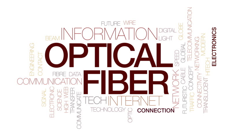 Optical fiber animated word cloud, text design animation. Kinetic typography. | Shutterstock HD Video #28964482