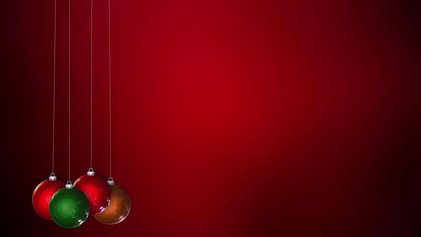 Hanging Christmas Ornaments Slowly Sway Stock Footage Video 100 Royalty Free 2897332 Shutterstock