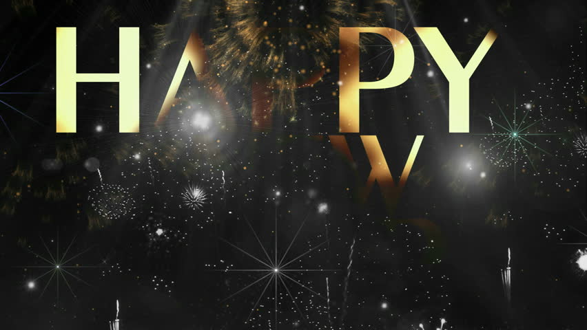 "Holiday Fireworks Happy new year text animation ( Series 4 - Version from 1 to 12 ) + "" Thing Different "" ++ "" You can find every week new Footage "" + + + "" Have a look at the other Footage series """