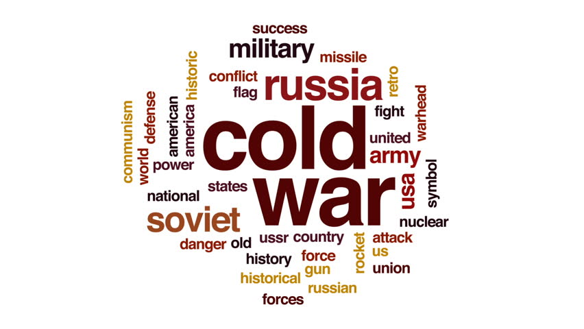 Cold War Animated Word Cloud, Stock Footage Video (100% Royalty-free)  29082652 | Shutterstock