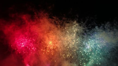 fireworks at Tokyo