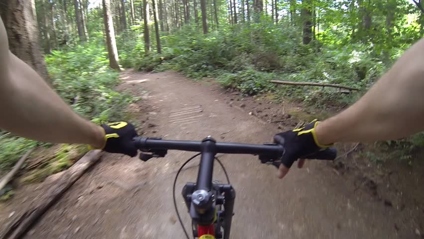 Riding Freedom No Hands Balance Stock Footage Video 6458591