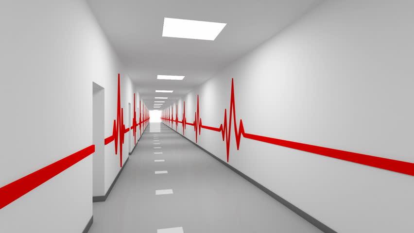 Hospital Corridor Lighting Design: Stock Video Clip Of Driving Through Abstract White