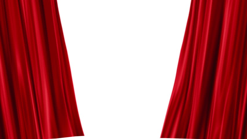 Red Curtains Open White Background Stock Footage Video 100 Royalty Free 2929612 Shutterstock