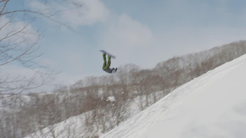 Snowboarding Crash - Extreme Sports Blooper