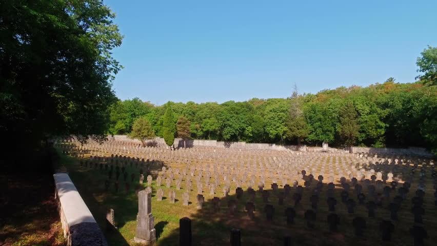 Military Graveyard - Aurisio, Italy