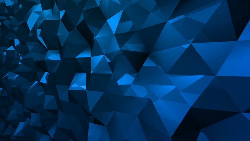 Geometric Triangle Wall waving background.   Shutterstock HD Video #29607790