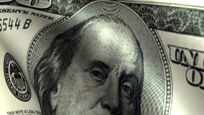 One Hundreed Dollars Flag Waving   Shutterstock HD Video #2974522