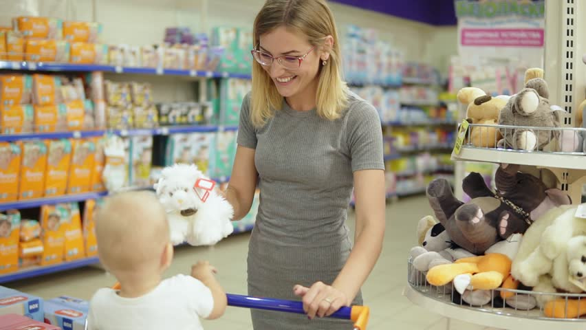 Image result for baby & toys section in supermarket
