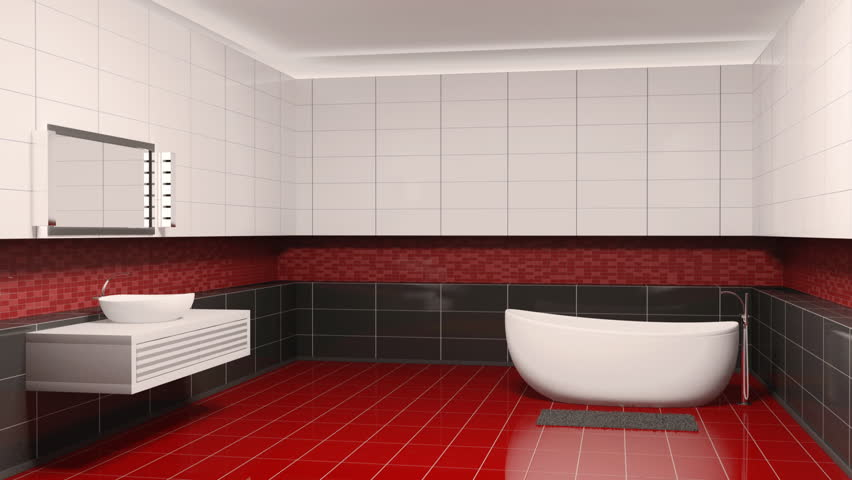 Bathroom interior creation