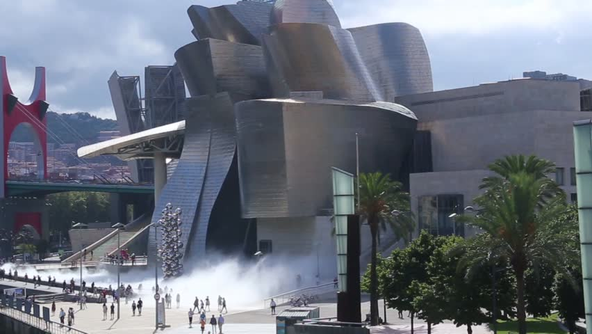The Guggenheim Museum Bilbao is a contemporary art museum located in a building designed by Canadian architect Frank O. Gehry. It is located in Bilbao, Basque Country, northern Spain. #30145582